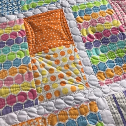 The Long and Short of It, Moda Bakeshop Quilt, The quilted B, Confetti Fabric, Me and My Sister Designs