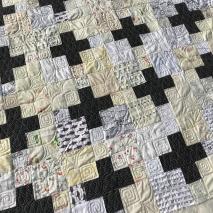 Black and White Plus Quilt