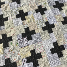 Black and White Plus Quilt