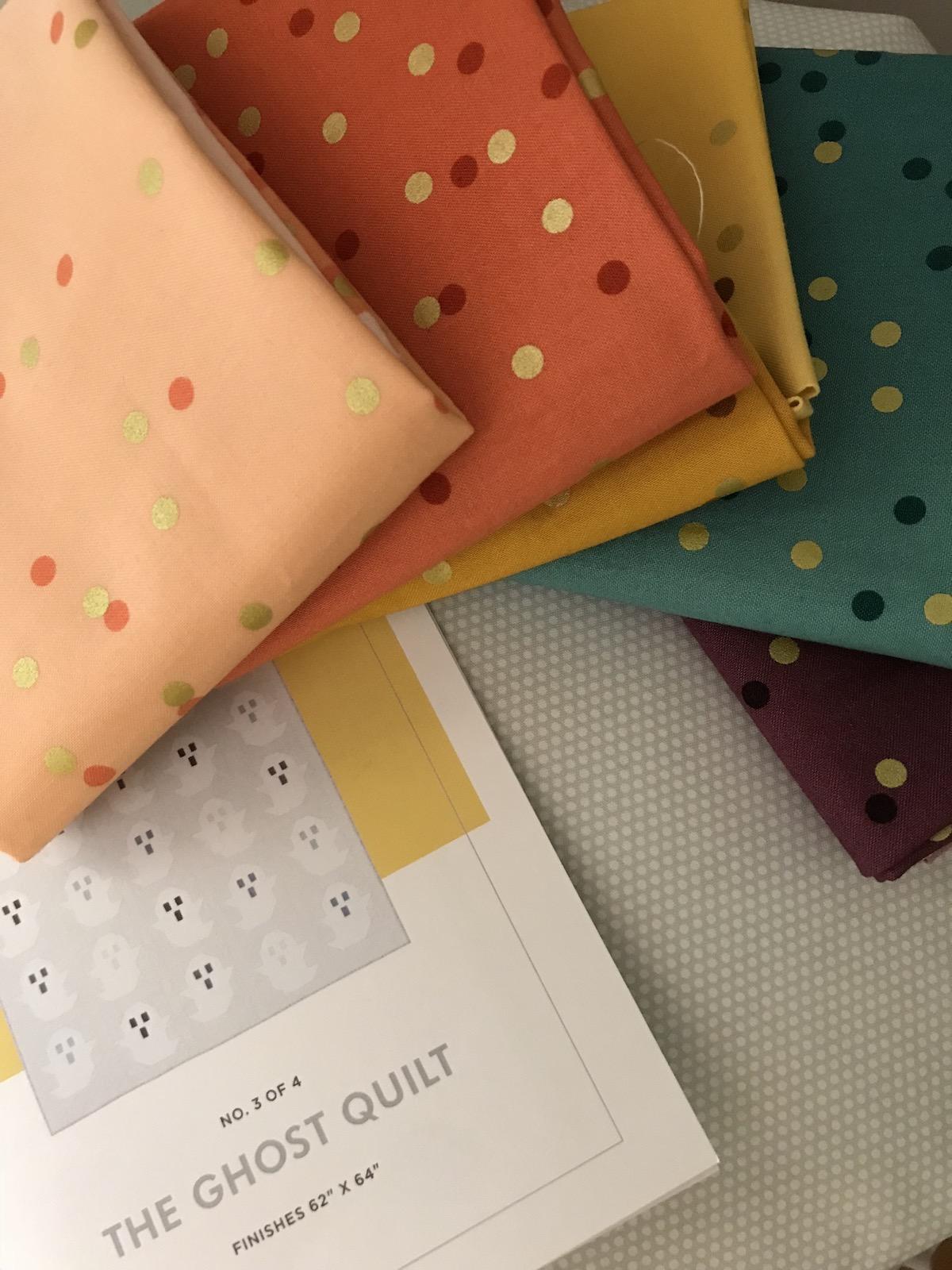 ghost fabrics and pattern confetti ombre