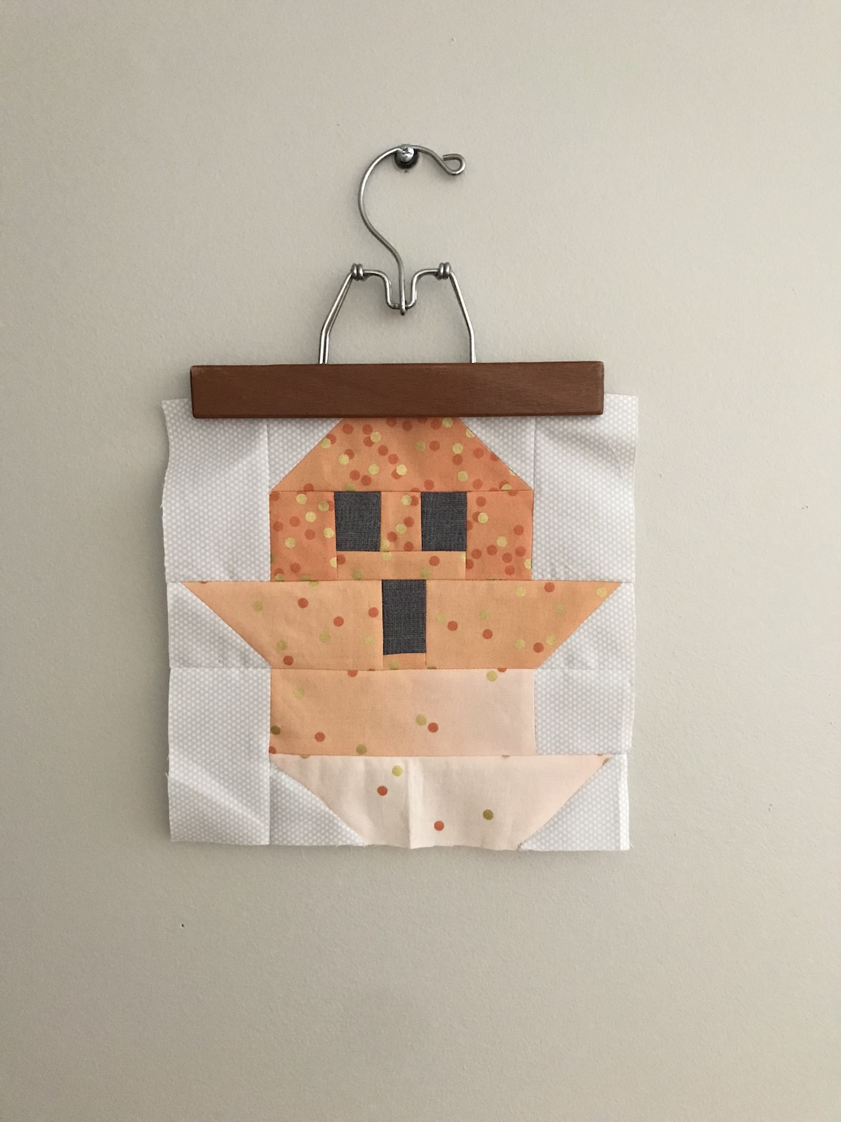 ghost quilt test block