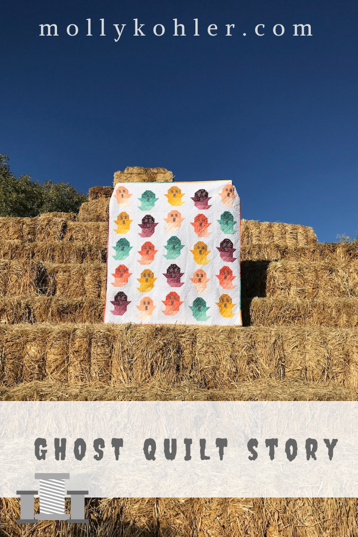 Ghost quilt on hay stack pinterest image lovely threads
