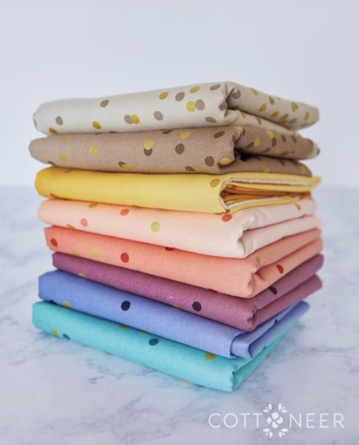 ghost quilt confetti ombre fabric bundle cottoneer