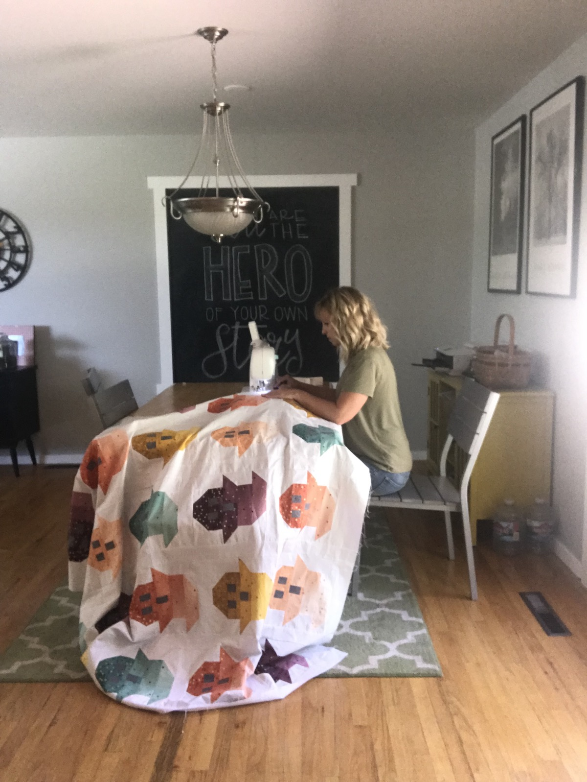 molly stay stitching ghost quilt edge