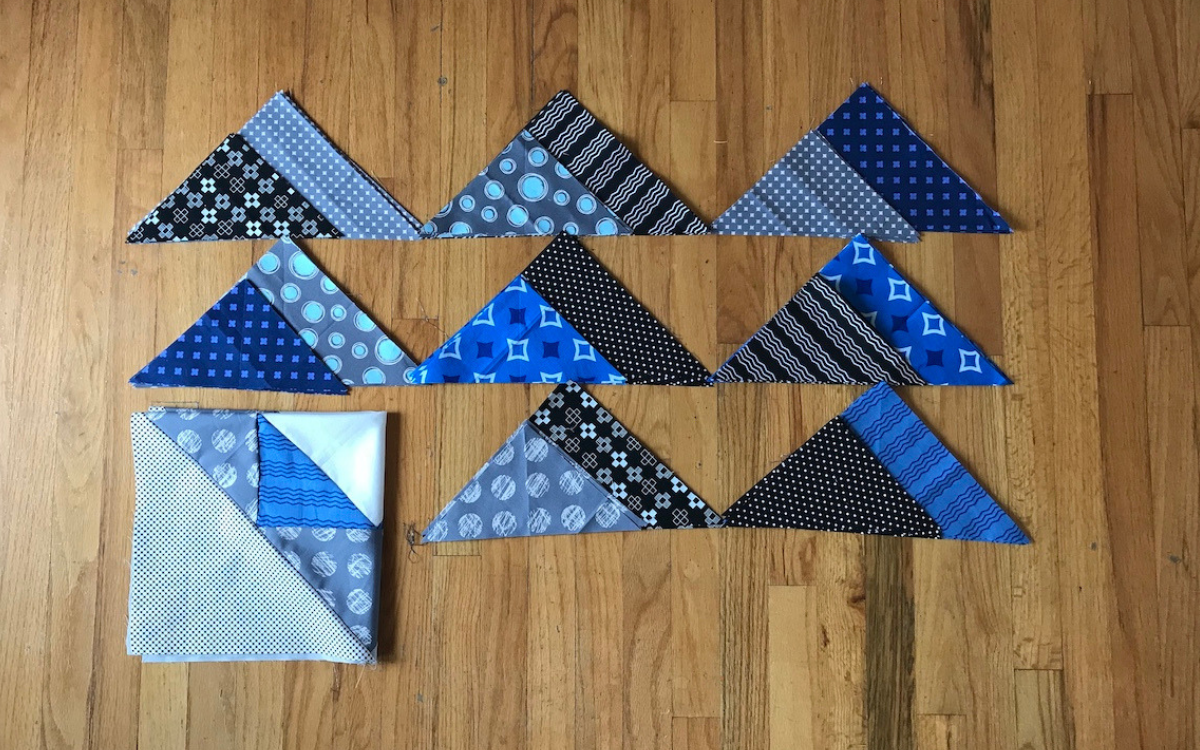 fabric stacks center field quilt tutorial