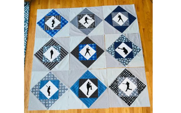 Center Field Quilt Block Layout
