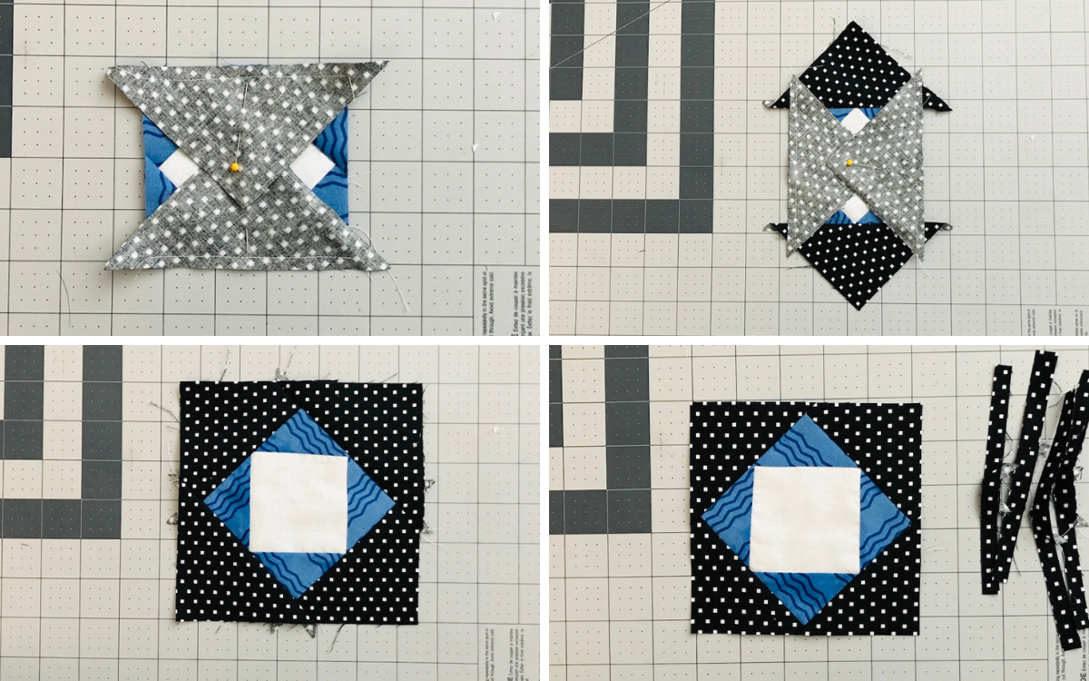 Step 2 Center Field Quilt Tutorial