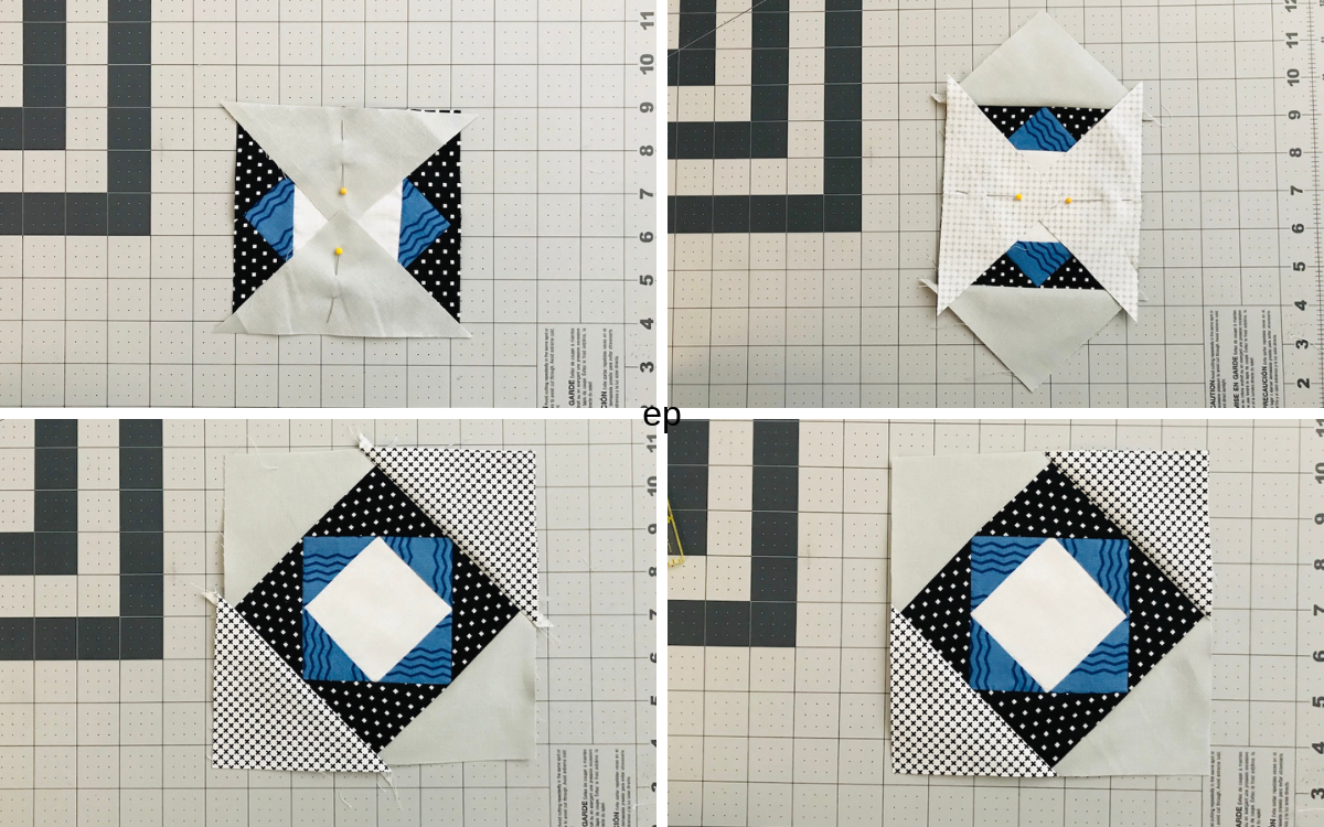 Step 3 Center Field Quilt Tutorial