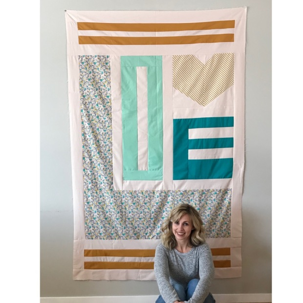 show love quilt and designer molly kohler