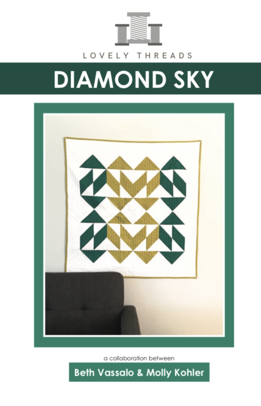 Diamond Sky Quilt Pattern
